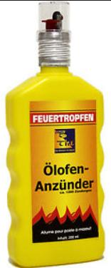 Ölofenanzünder flüssig 200 ml
