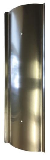 Hitzeschild aus Aluminium