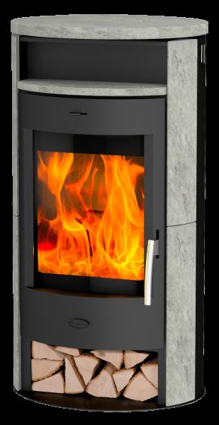Fireplace - JAKARTA Speckstein Kaminofen