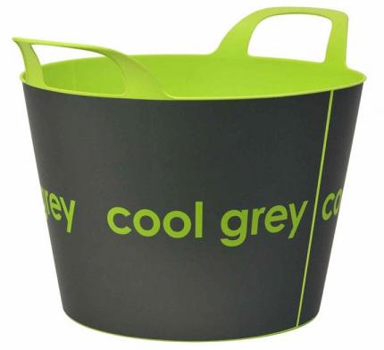 Lienbacher - Holzkorb Cool Grey