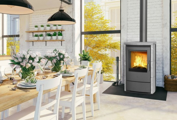 Fireplace - MELTEMI Dauerbrandofen Ambient