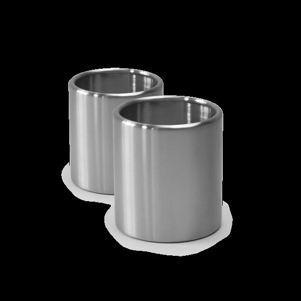 höfats - Nachfülldose 120 Edelstahl SPIN