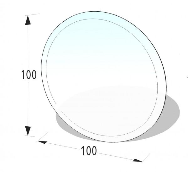 Glasbodenplatte P12 - Kreis 1000x1000 (mm)