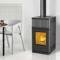 Fireplace - Gravio Pelletofen Stromlos