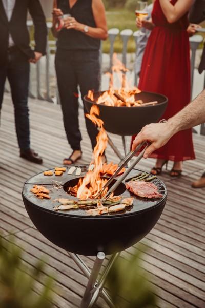 höfats - BOWL Feuerschale mit Dreibein
