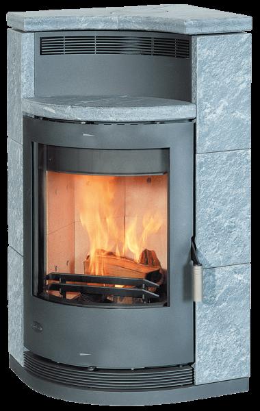 Fireplace - LYON Kaminofen mit Specksteinverkleidung