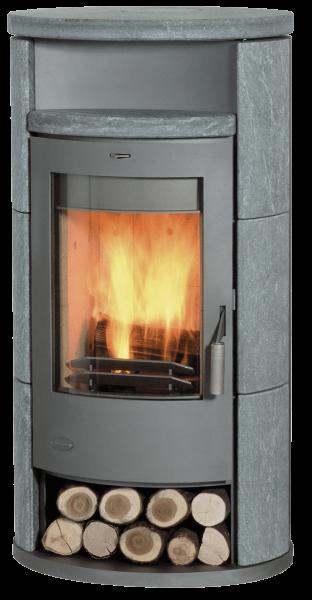 Fireplace - ALICANTE Kaminofen mit Specksteinverkleidung