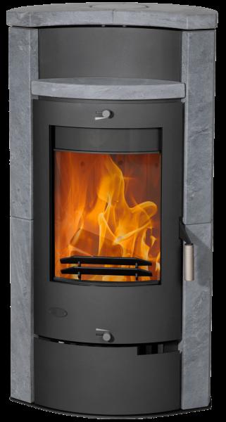 Fireplace - HAMBURG Kaminofen Specksteinverkleidung
