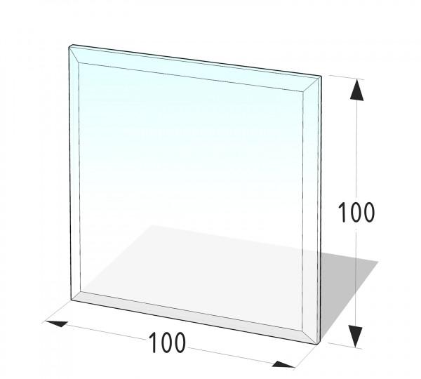 Glasbodenplatte P1 - Quadrat 1000x1000 (mm)