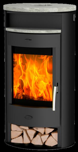 Fireplace - JAKARTA Speckstein Top Kaminofen