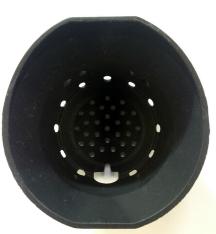 Rika - Brennschale gefräst rund Z32960